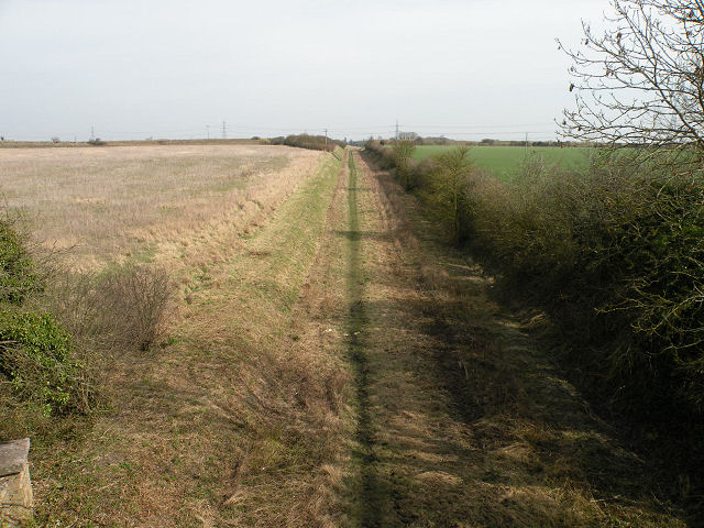 Former Cambridge to Mildenhall railway