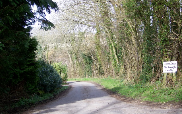 Bridleway near Teffont Magna