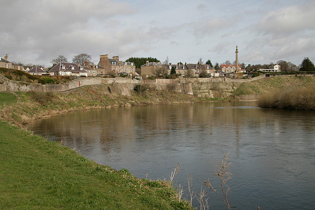 The River Tweed at Coldstream
