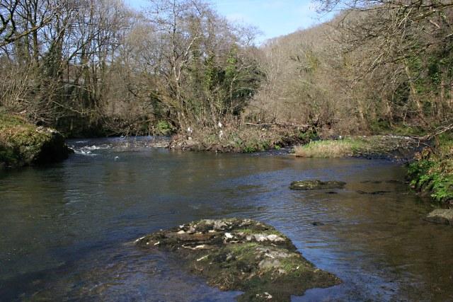 Upstream from Denham Bridge