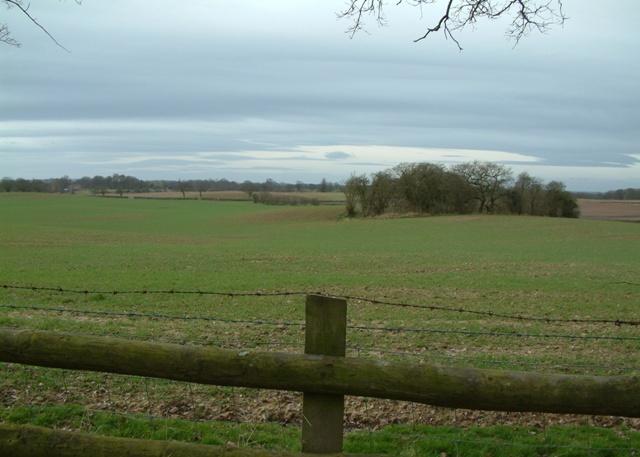 Farmland near Highfields