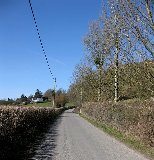 Heading West from Checkley