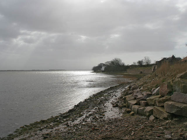 Footpath along the shore