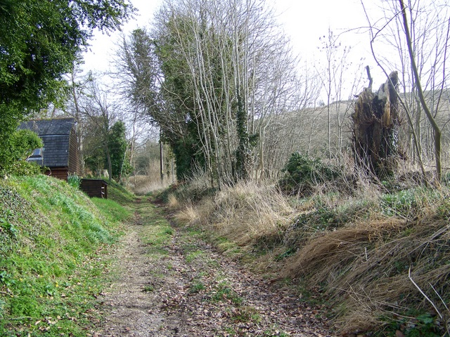 Byway near Middle Hill