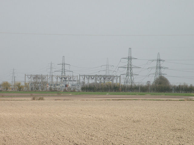 Burwell Main substation