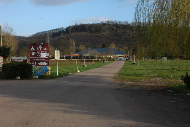 Adventure centre, Symonds Yat (West)