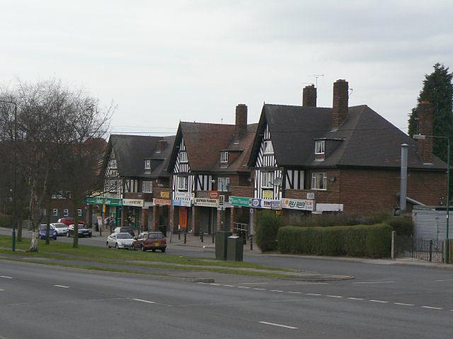 Shops on Arnold Road
