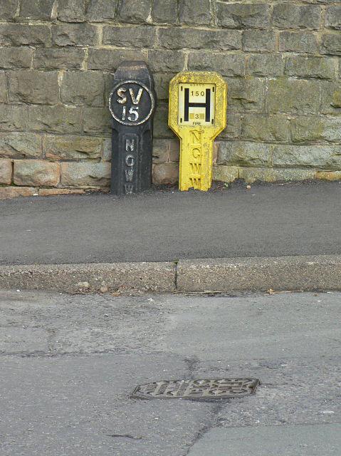 Waterworks markers