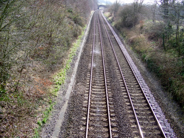 Railway line near Norton Bavant