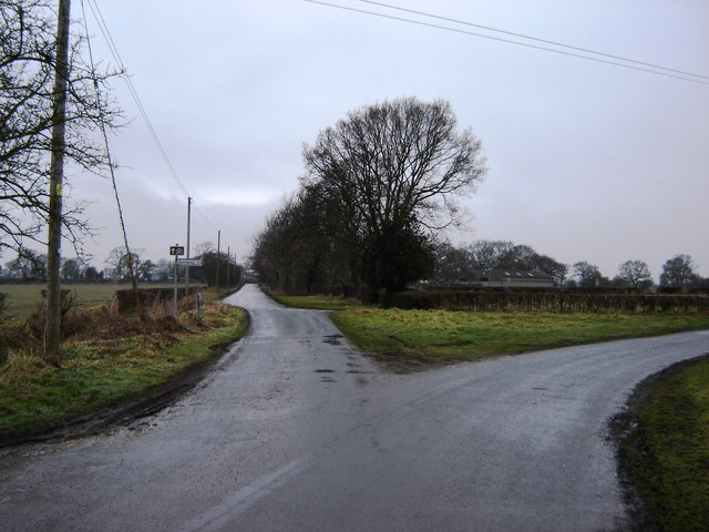 Road  Junction  Crankley  Lane