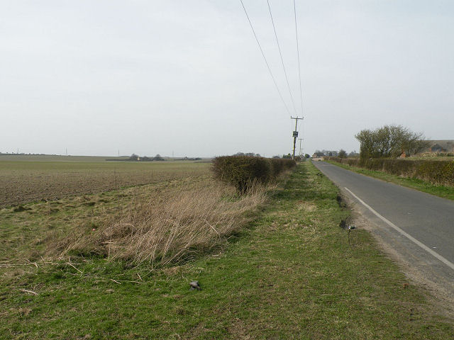 Minor road from Exning to Burwell