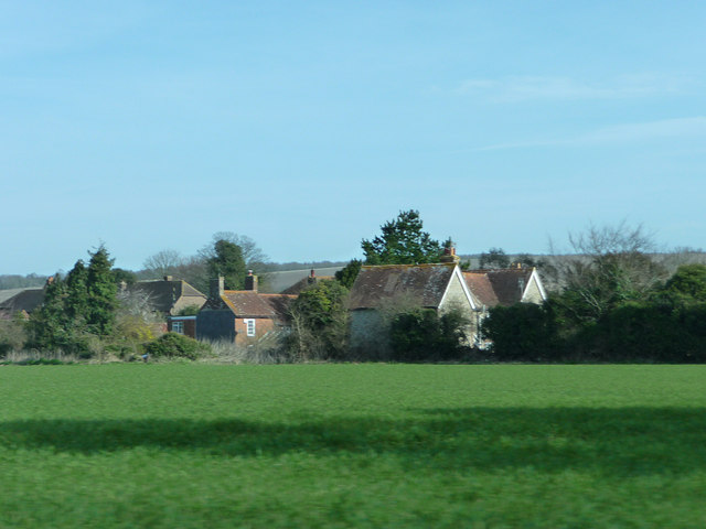 Mid Lavant from the west