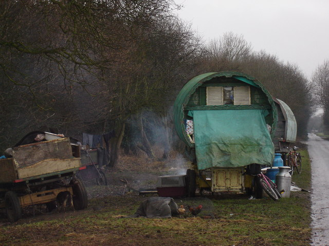 Roadside  Camp  Crankley  Lane