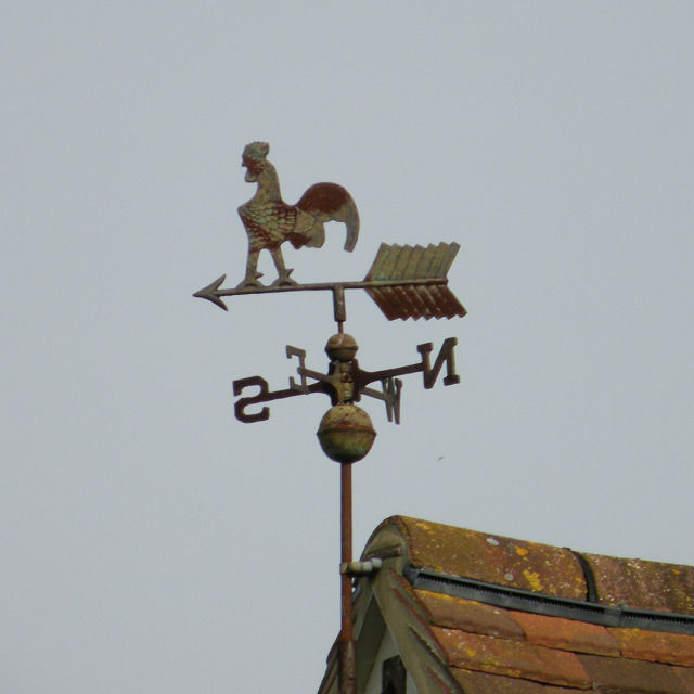 Weather vane at The Wilds