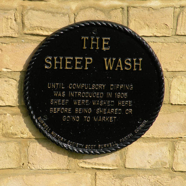 Plaque on the Sheep Wash