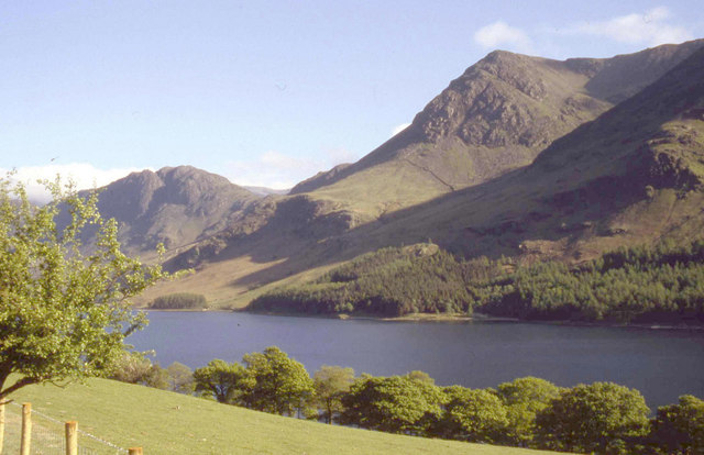 Haystacks and High Crag across Buttermere