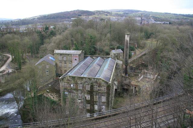 Torr Vale Mill, New Mills