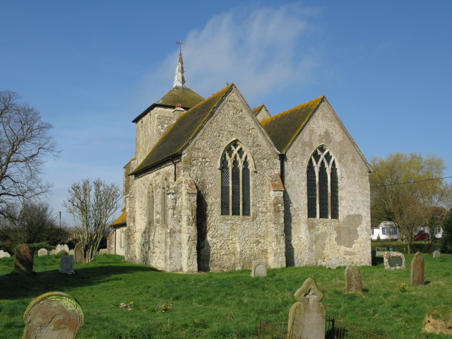 The church of St Mary Magdalene, Ruckinge