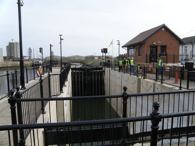 Black Sluice Lock