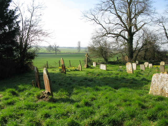 Looking SSW from Ruckinge churchyard
