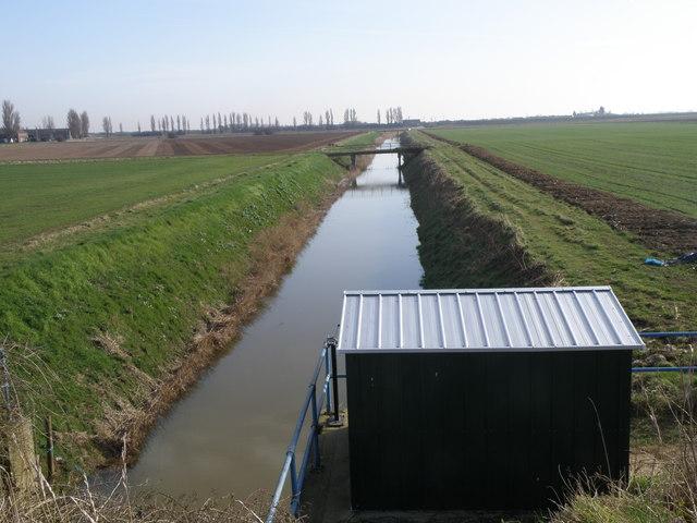 Drain on Wyberton Marsh