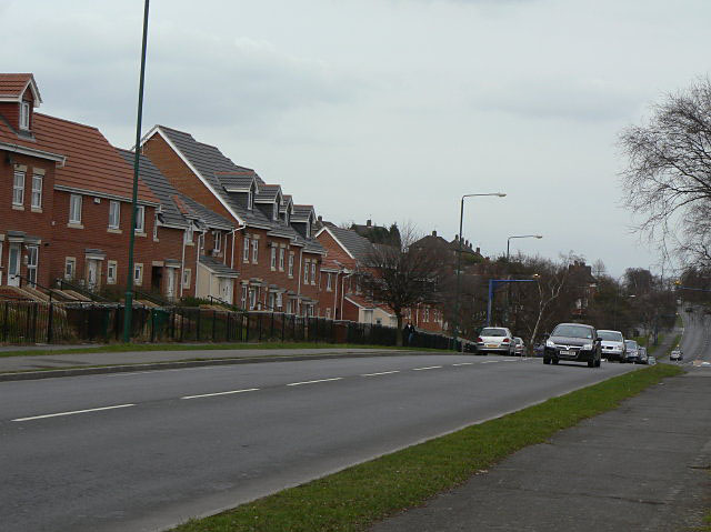 New housing on Arnold Lane