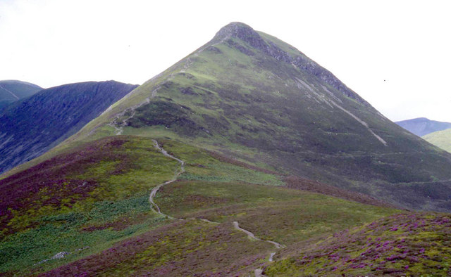 Ascent of Causey Plke from the East