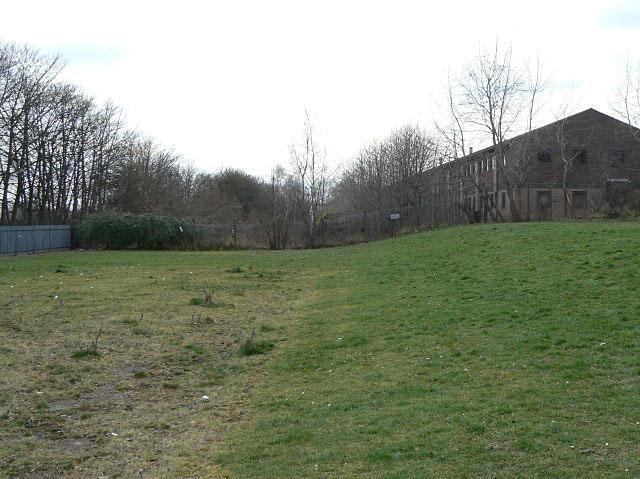 Site of railway sidings