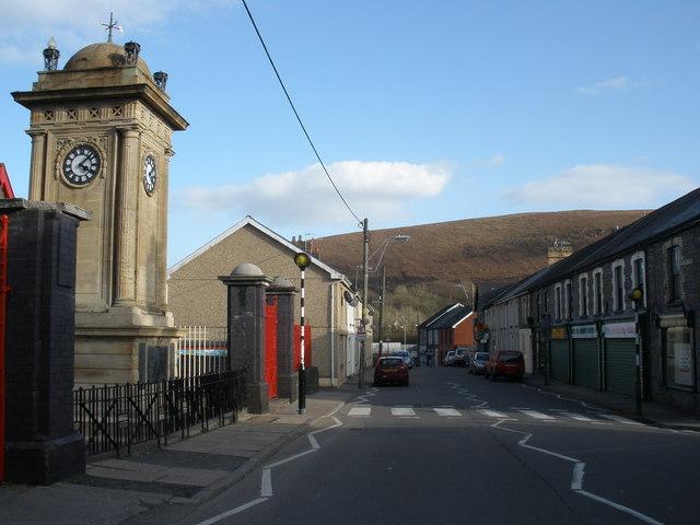 Ynysmeurig Road, Abercynon