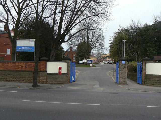 City Hospital gateway