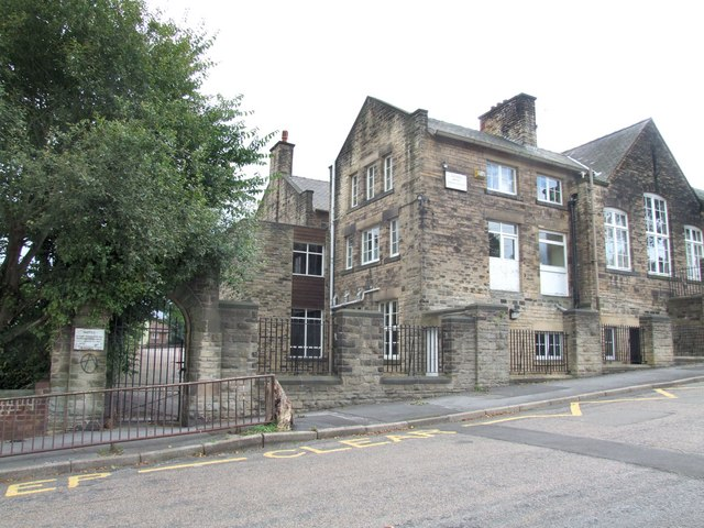 The former Western Road Secondary Modern School, Crookes