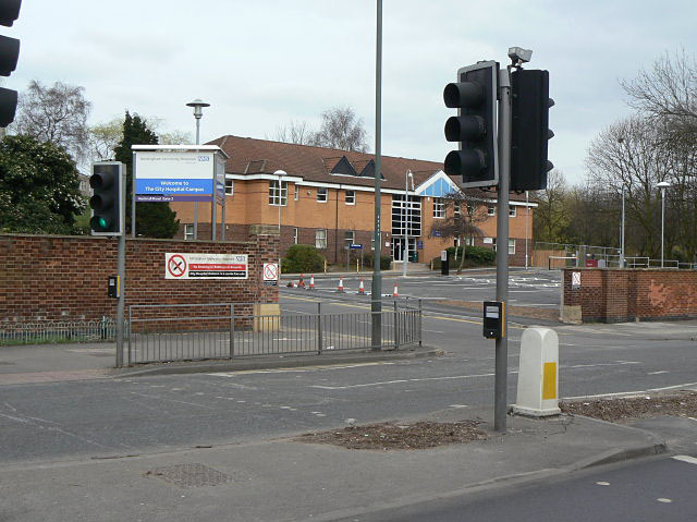 City Hospital entrance