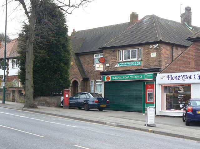 Hucknall Road Post Office