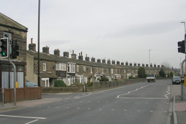 Bradford Road - viewed from West Chevin road