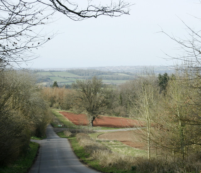 2009 : Top of the road to Hunstrete