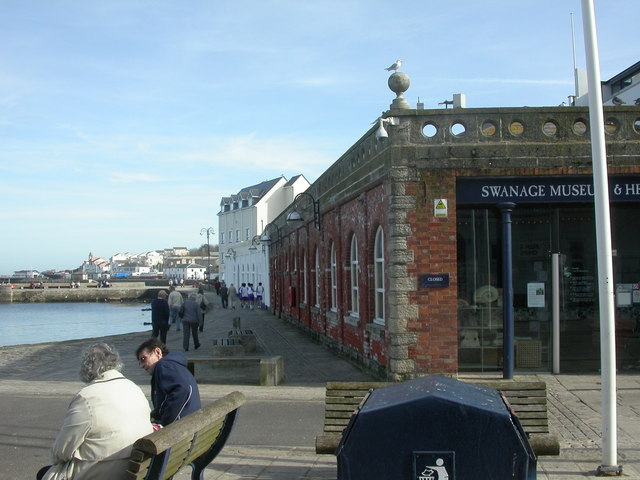 Swanage, old warehouses