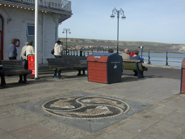 Swanage, pebble mosaic