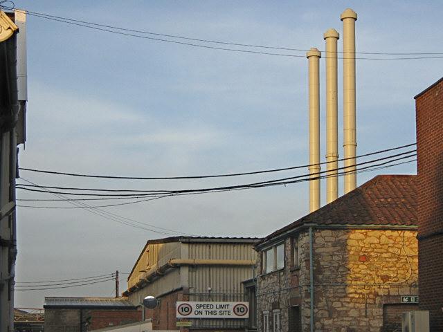 Three chimneys, Bridgwater