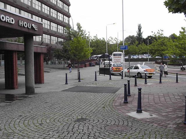 Taxi rank at Basildon Station