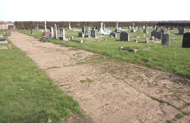 The cemetery, Aldbrough