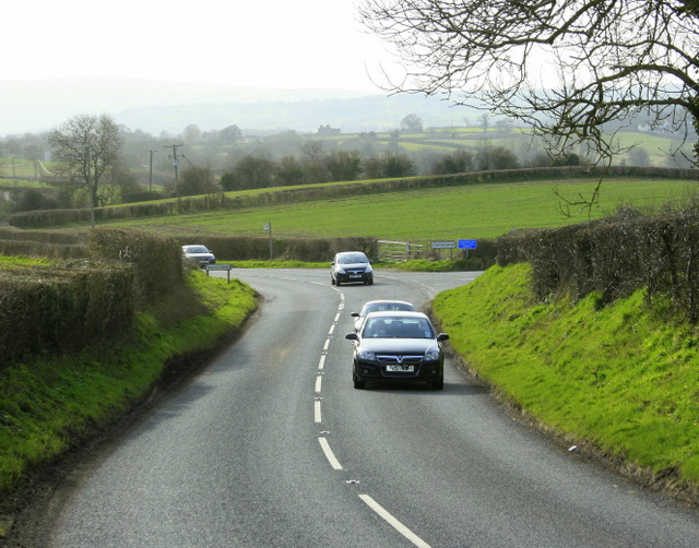 2009 : A368 near Stanton Wick