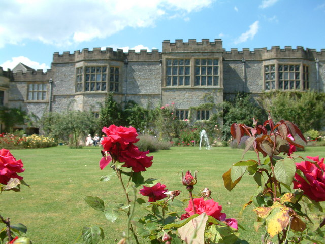 Rear of Haddon Hall