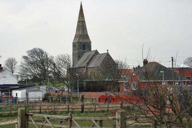All Saints C. of E., Mappleton
