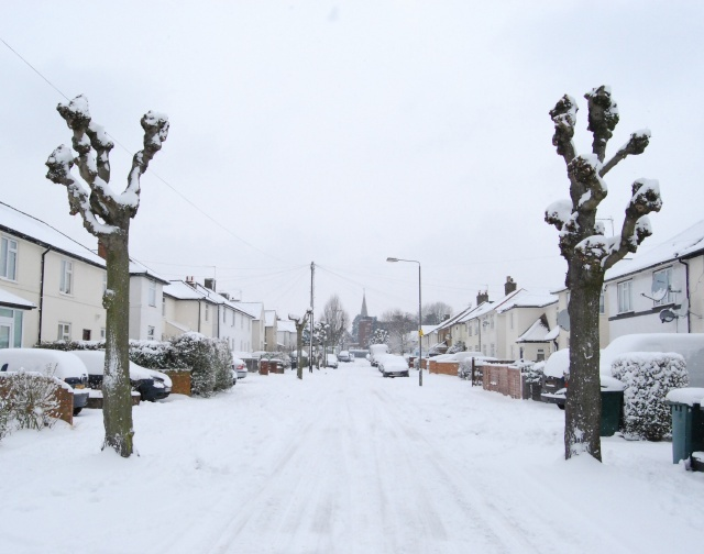 Russell Road, February 2009