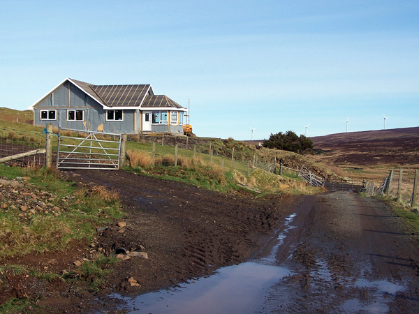 New bungalow in Upper Feorlig