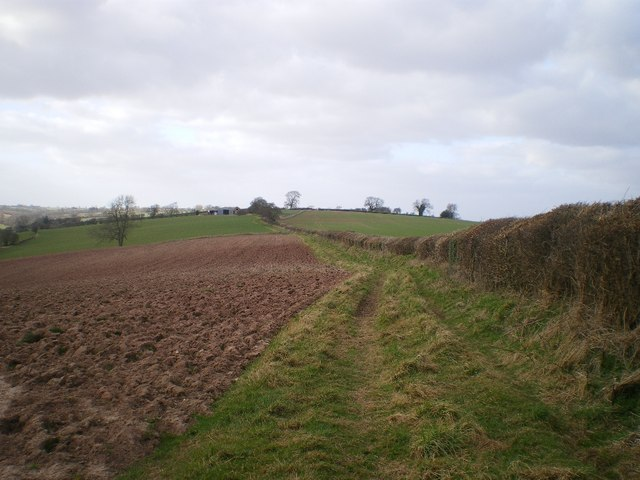 Northwards along The Jack Mytton Way