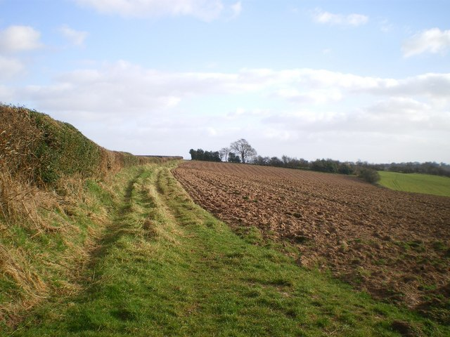 Southwards along The Jack Mytton Way