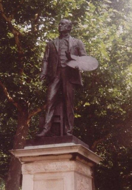 Millais Statue