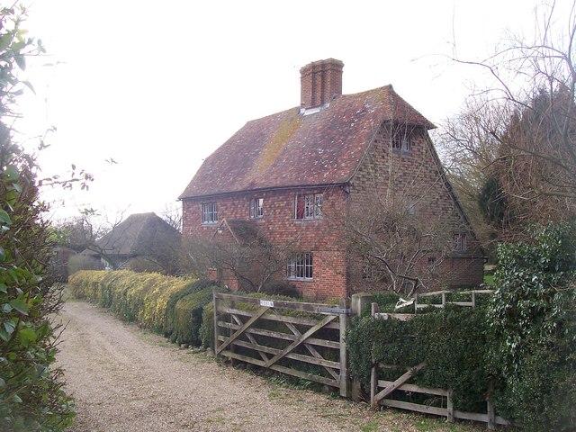 Potter's Forstal farmhouse