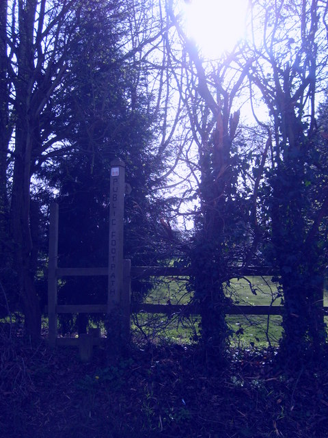 Stile to Golf Course Path